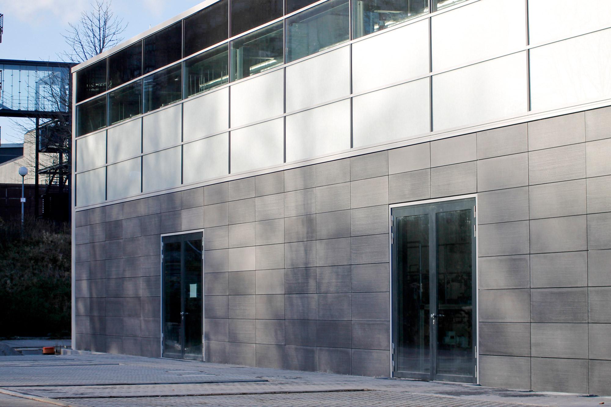 LUCEM Lichtbeton Fassade der RWTH Aachen