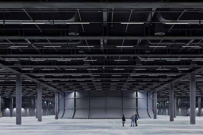 Neue Messehalle Basel 2013, Architektur: Herzog & de MeuronFoto: Iwan Baan