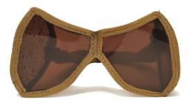 Höhensonne-Schutzbrille, 1930/40er Jahre,Museum der Dinge
