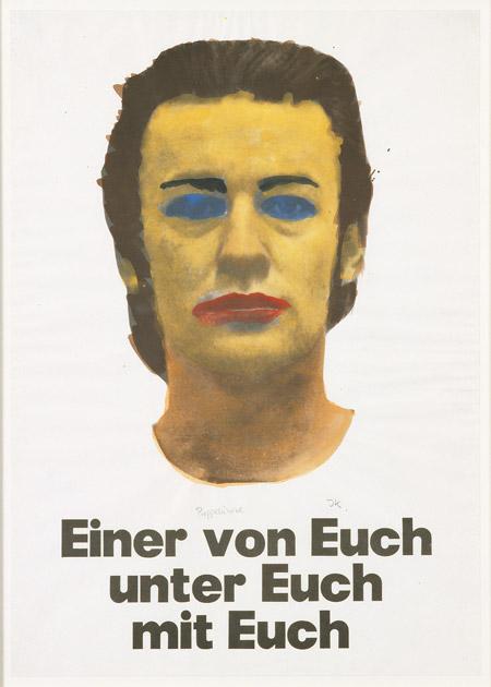 Martin Kippenberger Einer von Euch, Unter Euch, Mit Euch –  Portrait Martin Kippenberger  © Estate Martin Kippenberger, Galerie Gisela Capitain, Köln