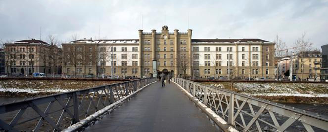 Panorama der Kaserne