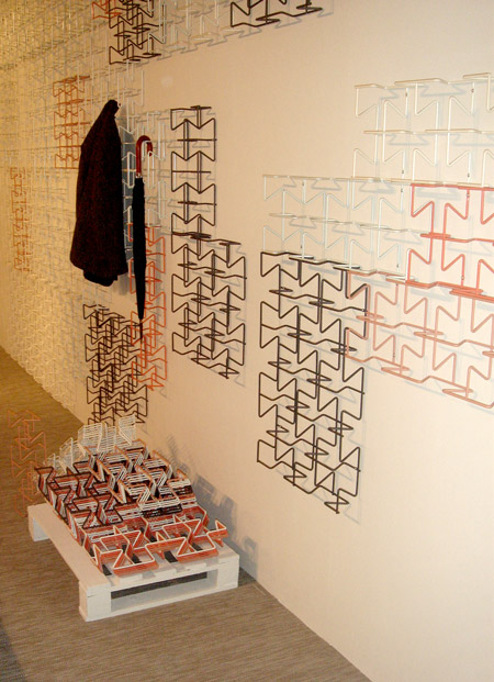 Garderobe 5x7 Grid, Studiobject, Salone Satellite 2013