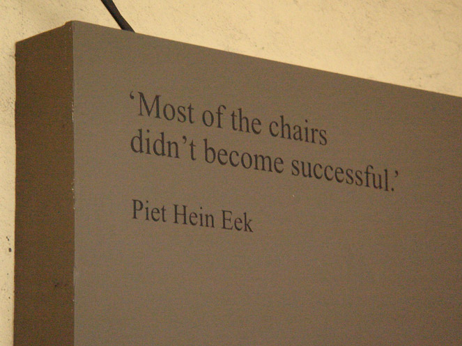Piet Hein Eek, MOST 2013
