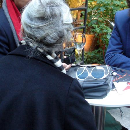 Frau mit Brille: Rossana Orlandi