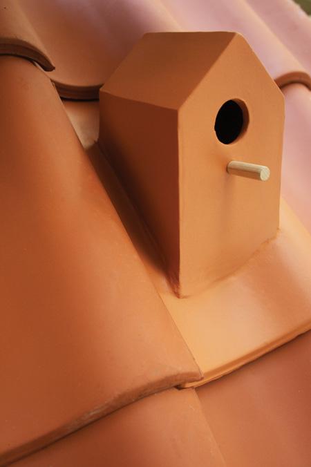 """Birdhouse Rooftile"" von Klaas Kuiken"